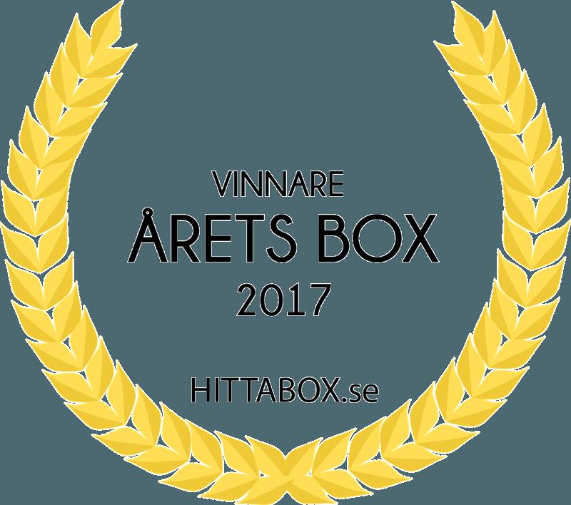 Vinnare årets box logga