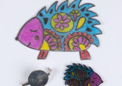 Schmelzgranulat – Stachelschwein