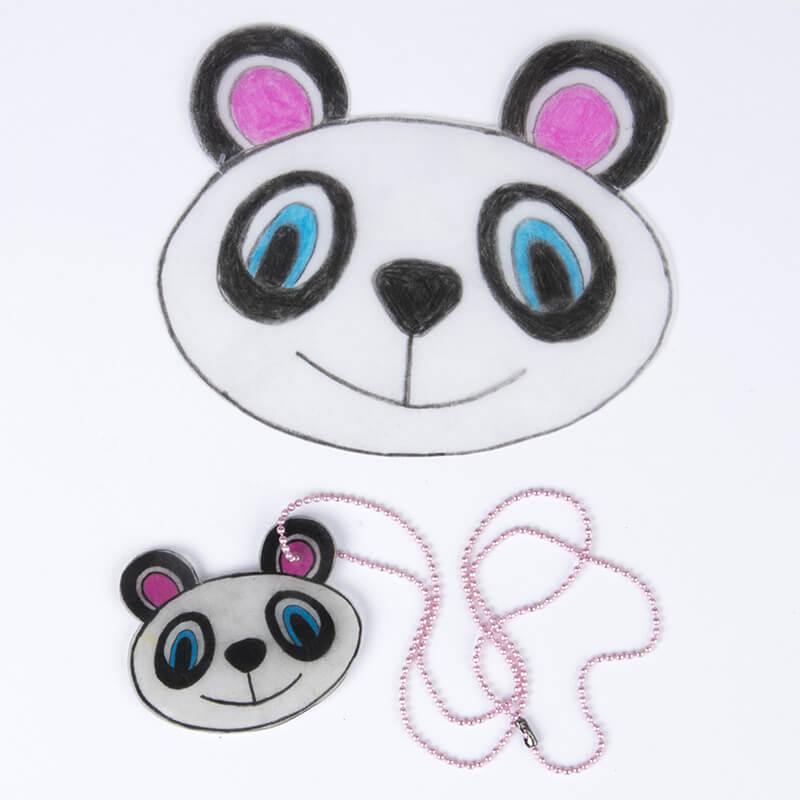 Krympplast – Panda