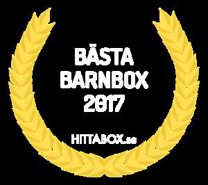 Vinnare av årets bästa barnbox 2017