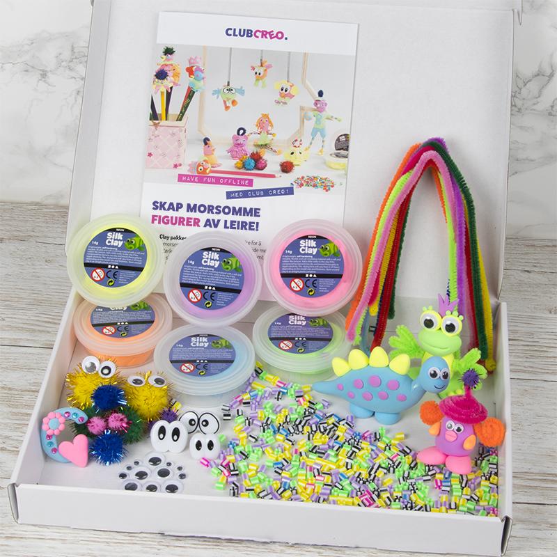 Sjove hobbyartikler for børn – leveret direkte i din postkasse!