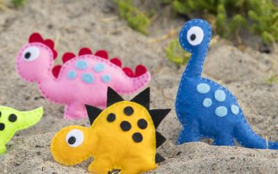 Dinosaurer på tur …