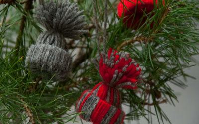 DIY – Bastle weihnachtliche süße Garnmäuschen