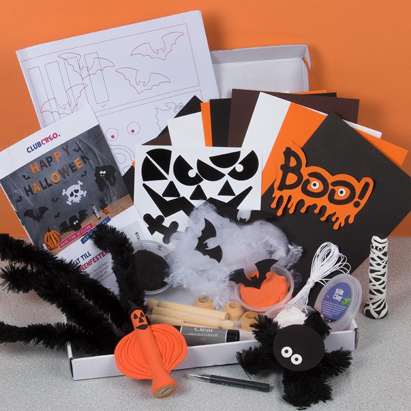 10 tips på halloweenpyssel för barn