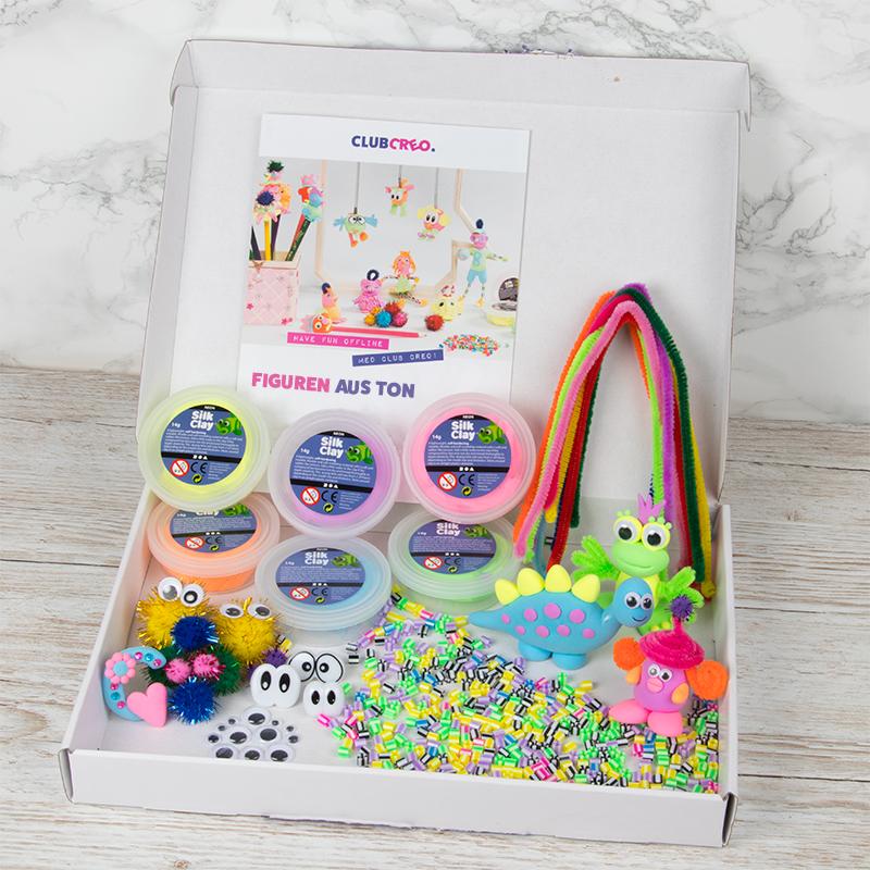 Lustiges Bastelmaterial für Kinder – ganz einfach direkt zu Dir nach Hause!