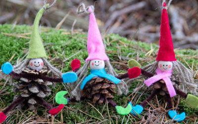 8 tips på fin julepynt av kongler