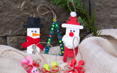10 Tipps für lustiges Weihnachtsbasteln für Kinder und Erwachsene!