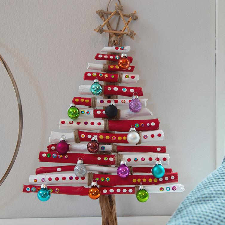 Lage sløyfer til juletre