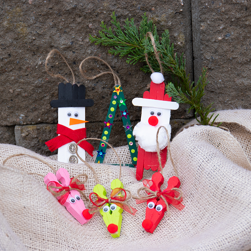 10 tips til hyggeligt julepyntfor børn og voksne!
