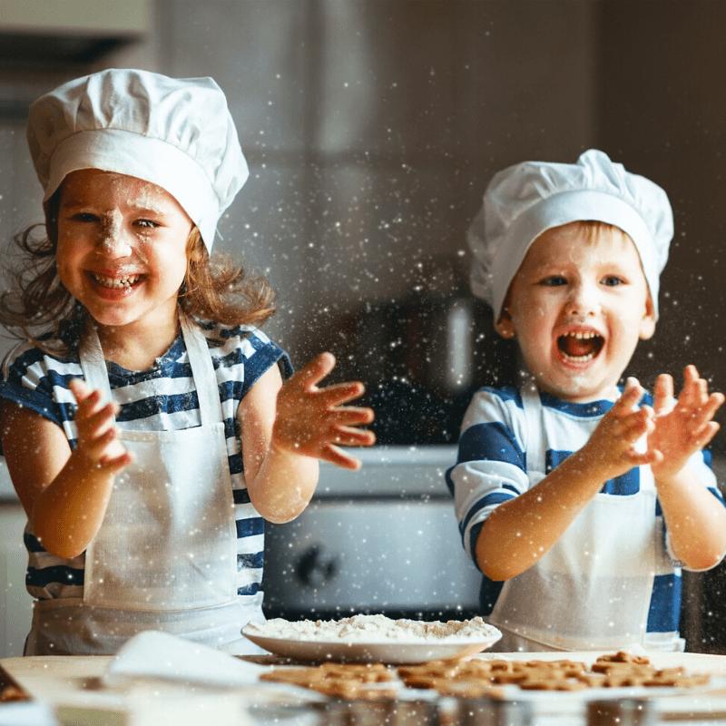Baka dig och ditt barn lycklig!