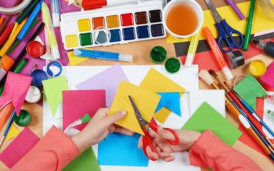 Finmotorik viktig för barns inlärningen