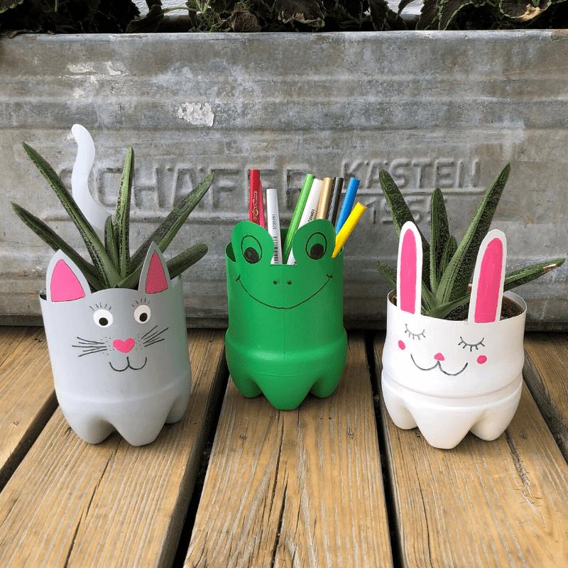 hobby dyr av plastflasker barnehobby