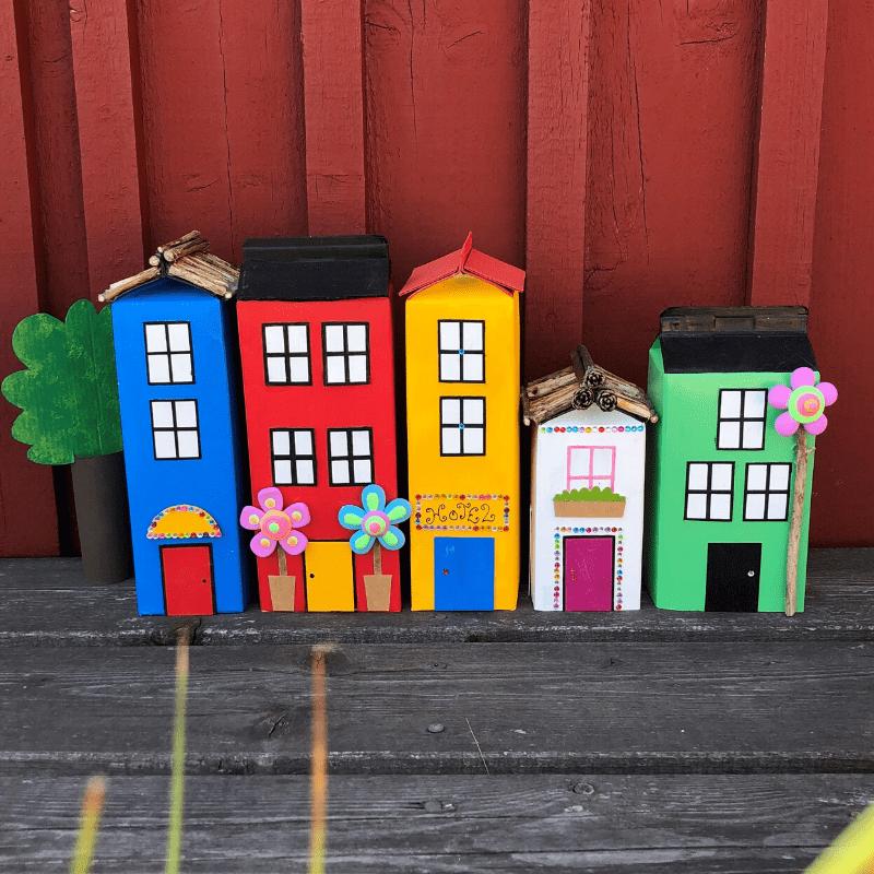 sommarpyssel för barn recycling