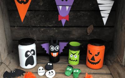 10 Tipps für Halloween-Bastelspaß
