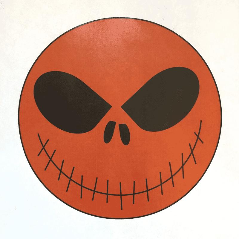 Döskalle – orange