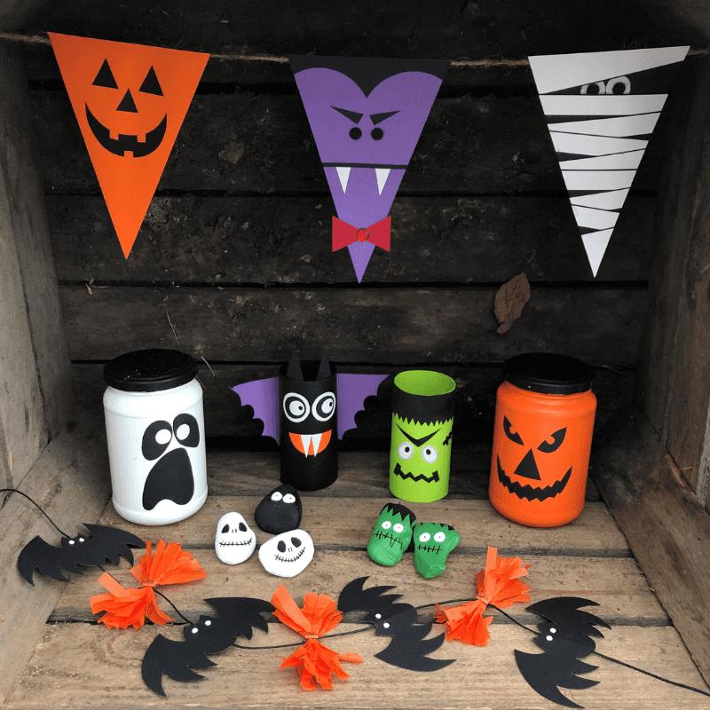 tips på halloween pyssel för barn