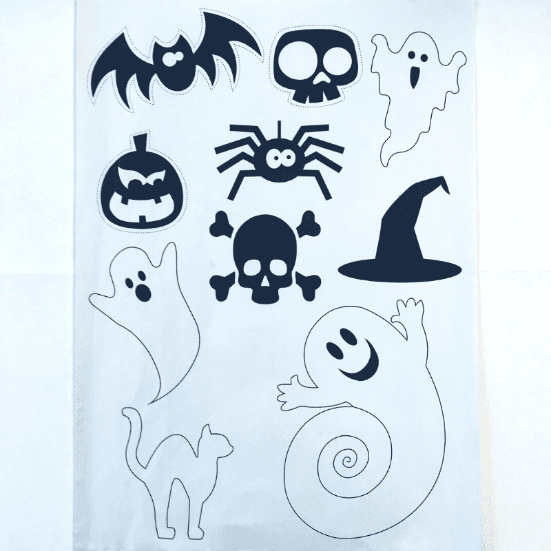 Skabeloner – Halloween -0029