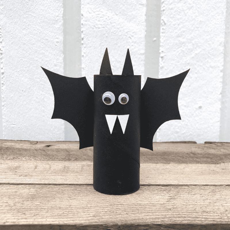Knutselen voor Halloween voor kinderen knutselen met toiletrollen