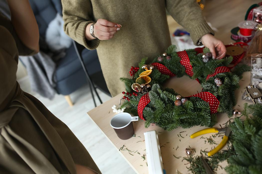 dekorera julkrans