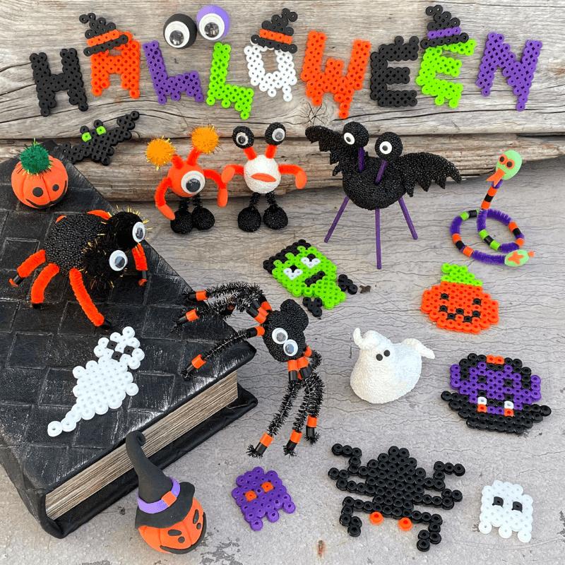 Halloweenpyssel för barn!