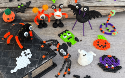 Halloween-Bastelspaß für Kinder!